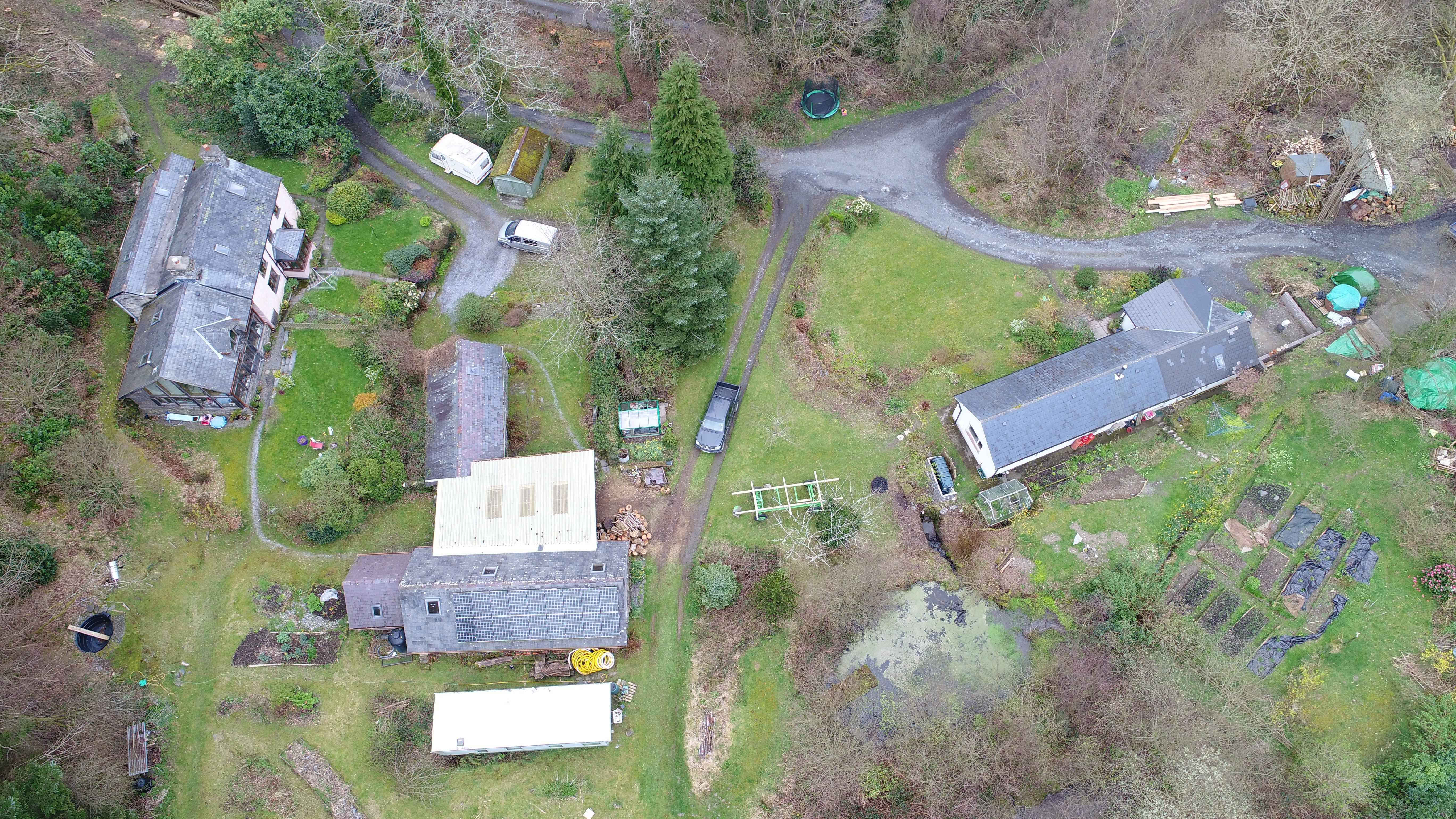 Aerial Drone Architectural Photography and Professional Building Surveys, North Wales, Mid Wales, West Wales.